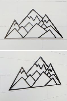 25 Mountain Wall Art Designs To Decorate Your Walls 25 Mountain Wall Art Designs To Decorate Your Walls Eva Chan evabread graphic This geometric mountain scene is a great nbsp hellip Mountain Decor, Mountain Designs, Mountain Art, Triptych Wall Art, Wood Wall Art, Iphone Wallpaper Mountains, Mountain Drawing, Geometric Wall Art, Geometric Trees