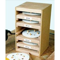 Sandpaper Caddy Plan