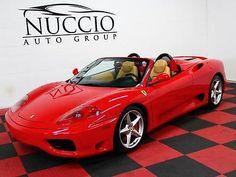 nice 2003 Ferrari 360 Spider Convertible 2-Door - For Sale