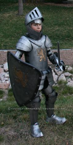 Coolest Homemade Medieval Knight Suit of Armor... Coolest Halloween Costume Contest
