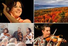 Celtic Colours International Festival  each October in Nova Scotia - must see to believe