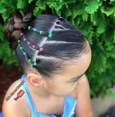 I'm Sorry we are one day late but we want to wish Donna a very happy birthday we hope you had a great birthday. Easy Little Girl Hairstyles, Hairdos For Short Hair, Cute Hairstyles For Teens, Protective Hairstyles For Natural Hair, Braided Hairstyles, Cool Hairstyles, Natural Hair Styles, White Girl Braids, Birthday Hairstyles