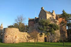 The stunning Dairsie Castle
