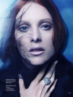 Карен Элсон в Vogue China Collections