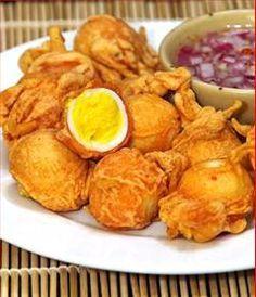 Egg Pakora recipe