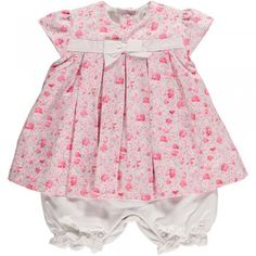 """Eda"" is a very sweet little dress/ romper from Emile et Rose"