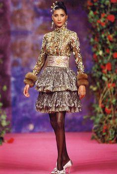 christian lacroix haute couture 1989 - Buscar con Google