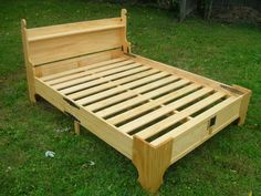 Knockdown bed brings comfort to the campsite.