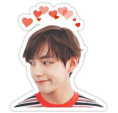 Pop Stickers, Face Stickers, Tumblr Stickers, Printable Stickers, Planner Stickers, Bts Tickets, Bts Book, Kpop Diy, Pen Pal Letters