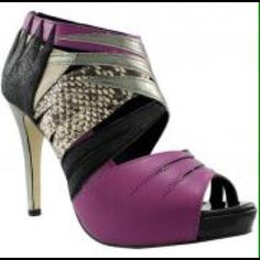 Zigi soho dance shoes Size 6 zigi soho heels.purple,silver,black, and crocodile skin. Zigi Soho Shoes Heels