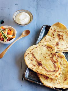 Parathas recipe by Ragini Dey Baking And Pastry, Recipe Ideas, Donuts, Breads, Spices, Cooking Recipes, Ethnic Recipes, Kitchen, Summer