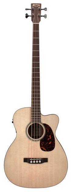 Martin BC-16GTE Acoustic Electric Bass Guitar Mahogany Sitka | Rainbow Guitars