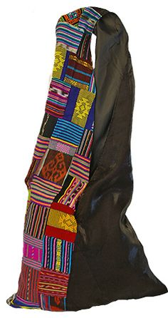 East Timorese Tais & Satin Sling Bag