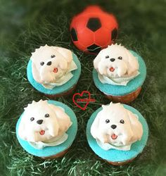 Loving Creations for You: Cute Doggie Lychee Rose Chiffon Cupcakes Chiffon Cake, Cupcakes, Christmas Ornaments, Create, Holiday Decor, Rose, Blog, Cupcake Cakes, Pink