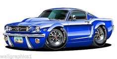 1965 Ford Mustang 289 HP Rat Fink, Weird Cars, Cool Cars, Mustang Cars, Ford Mustang, Cool Car Drawings, Truck Art, Ford Fairlane, Car Posters