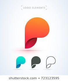 P Logo Design, Branding Design, Graphic Design, Branding Ideas, Logo Branding, Line Art, Logos, Affinity Designer, Abstract Logo