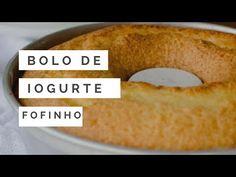Bolo de iogurte (receita de liquidificador) - YouTube