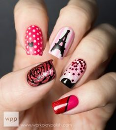 Visit Minnie's Closet! OPI Couture de Minnie Nail Art