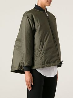 Women - Comme Des Garçons Comme Des Garçons Oversize Bomber Jacket - Tessabit.com – Luxury Fashion For Men and Women: Shipping Worldwide