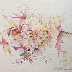 Olivia Duchene | Watercolor | color palette