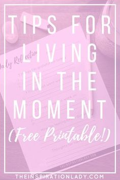 We all know that being mindful is important, but it's easier said than done. So here are my 5 best tips for being more present and living in the moment!