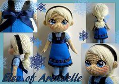 Elsa Doll free crochet pattern