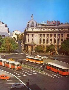 Via București Piața Romană, 1980.