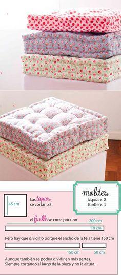 Las almohadas de suelo