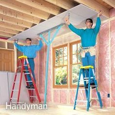 How to Hang Drywall Like a Pro | The Family Handyman