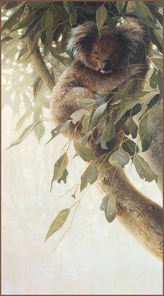 [LRS Animals In Art] lrsAA036 Seerey Lester John - Child of the Outback