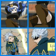 Panties!!!-Juvia and Lyon>_<♡