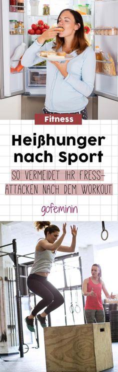 Sechs einfache Tipps, die euch helfen, fiese Heißhungerattacken zu vermeiden. #heißhunger #sport #workout #fitness #abnehmen #diät