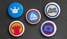 It's a button. It's a badge. It's both! Foursquare badge buttons
