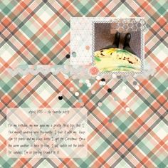 My favorite digital scrapbooking layout outfit using the Already There Bundle at Pixel Scrapper