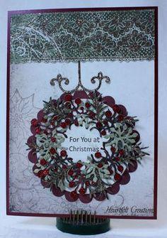 Heartfelt Creations | Christmas Wreath