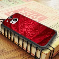 Red Passion Waterdrop On Leaf HTC One M8 Case