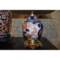 Lampe En Porcelaine De Bayeux