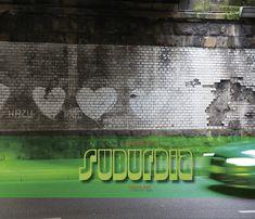 Mein grüner Ort ist kein grüner Ort. Das wäre zu langweilig und zu eindimensional. Mir fallen eher Parallel- und Suborte der Mobilitätsgesellschaft ein. Was wäre da naheliegender um an die Orte zu gehen, die das darüber liegende halten und stützen, nämlich zu schauen und hinzugucken u.a. unter Brücken ... das ist Suburbia. Im Pott.   ##GHE2017 #edition dpe #Essen #Fotobuch #Grüne Hauptstadt #Kunstbuch #Pott #Ruhrgebiet #Suburbia