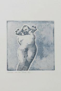 intaglio etching by Nathalie van den Tillaar