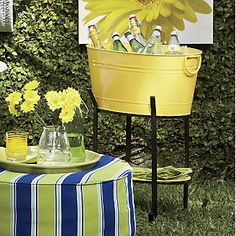 Party Tub Cooler with Stand from Through the Country Door®