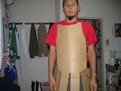 Nick, the cardboard warrior by NiMaGaMiN, via Flickr