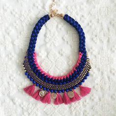 VENTA Borla collar collar collar de moda collar por AllGirlsneed