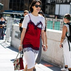 6 maneiras de usar seu t-shirt dress