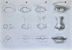 art, drawing, eye, lips, noise, step by step, perf.