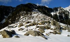 triund camping area - Picture of Triund Mountain Lodge