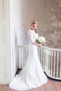 Beautiful Lace - Modest Wedding Gown