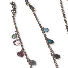 Trendy brillenkoorden Uniek & Handgemaakt | HAIRPIN.NU Hair Pins, Eyeglasses, Pendant Necklace, Chain, Jewelry, Products, Fashion, Accessories, Eyewear