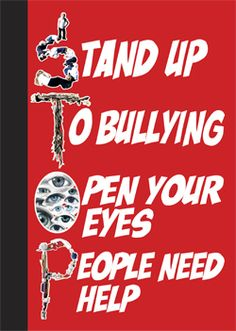 Image detail for -Nosey Rosey's: Stop Bullying!