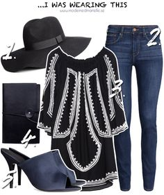 70's style and mules Hatt – H&M, 179 kr // Jeans – H&M, 399 kr // Tunika – Zara, 699 kr // Väska – Zara, 500 kr // Mules – H&M, 599 kr