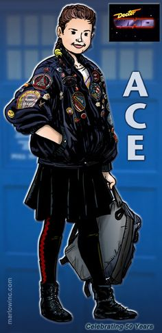 Ace by Marlowinc Ace Doctor Who, Wilfred Mott, Original Doctor Who, Sylvester Mccoy, Martha Jones, Classic Doctor Who, Doctor Who Companions, Captain Jack Harkness, David Tennant Doctor Who